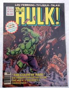 The Hulk Magazine Nº 12: Lou Ferrigno - Moon Knight - 1978