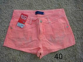 Shorts Jeans Feminino Biotipo Cod 328