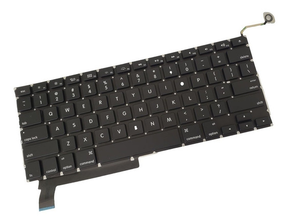Teclado Macbook Pro 15 A1286 2009 2010 2011 2012 Eua Apple ®