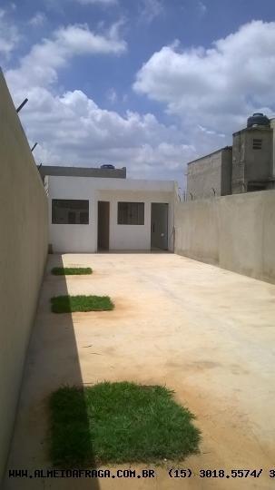 Casa Para Venda Em Sorocaba, Parque Sao Bento, 1 Dormitório, 1 Banheiro - 244_1-497352