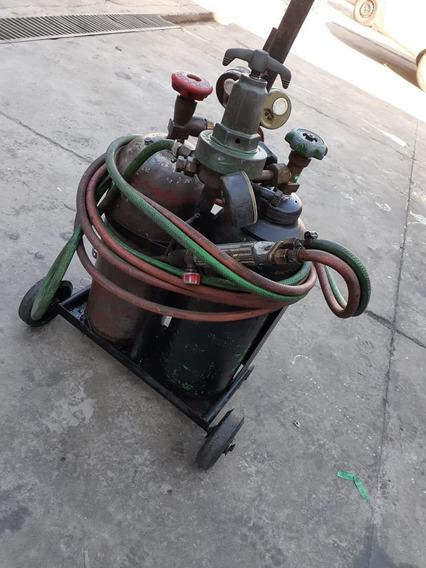 Maquina De Solda Oxigênio Perfeito Estado - Completa