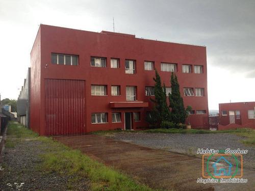 Galpão Para Alugar, 2400 M² Por R$ 25.000,00/mês - Recanto Silvestre (fazendinha) - Santana De Parnaíba/sp - Ga0008