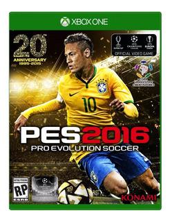 Pro Evolution Soccer 2016 Xbox One Pes 2016