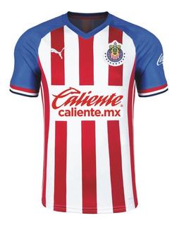 Playera Jersey De Chivas De Local Para Hombre Temporada 2019 - 2020 Version Aficionado Original 100% Marca: Puma