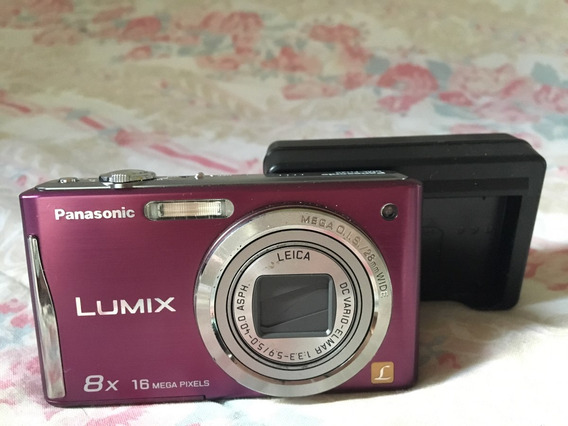 Lumix Panasonic Dmc-fh25+ Carregador