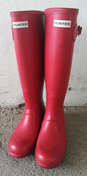 Botas Hunter Rojo Opaco
