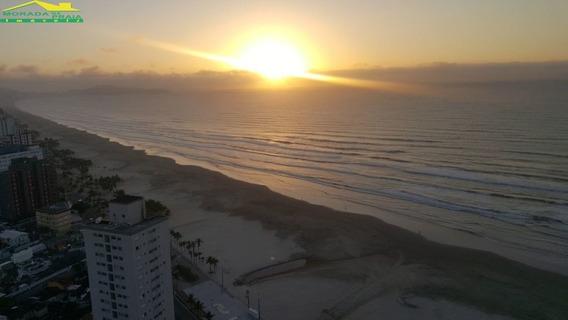 Apartamento Frente Mar Na Mirim, 3 Dormitórios, Lazer Completo, Só Na Imobiliária Em Praia Grande. - Mp12665