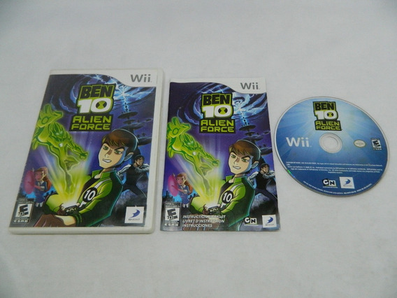 Ben 10 Alien Force Original Nintendo Wii - Completo