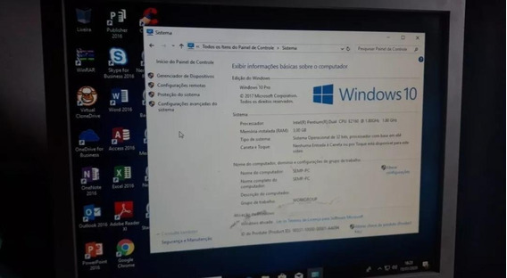 Computador Dual Core Hd 500gb 3gb Ram Windows 10 Leia Tudo!