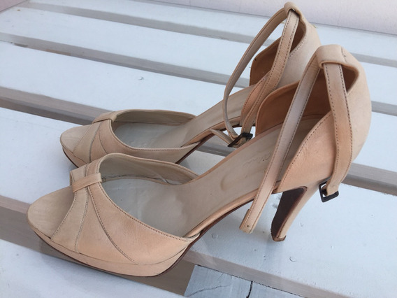 Zapatos Carlo Color Nude Talle 40