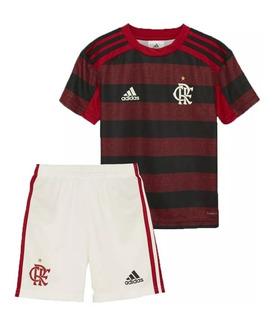 Conjunto Infantil Flamengo 2019/20 Oficial / Super Oferta
