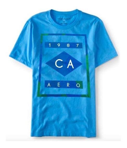 Camiseta Aero 1987 Masculina Aeropostale Original Orlando