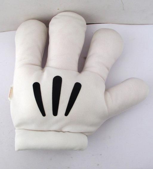 C8033 Luva Do Mickey Mouse Em Tecido Poliester, Estofada, O