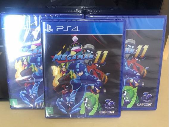 Megaman 11 Novo Lacrado Mídia Física Playstation 4 Ps4