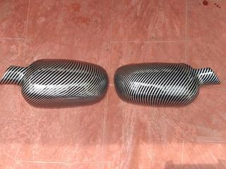 Cobertor Retrovisores Chevrolet Corsa Evolution Fibra Carbon
