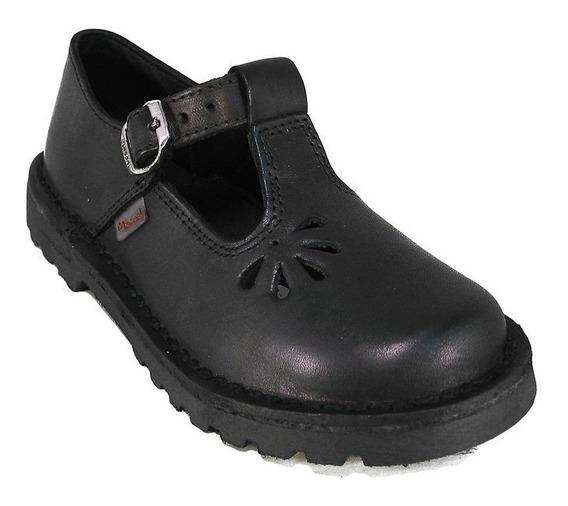 Zapatos Guillerminas Marcel 904 Colegial Escolar Cuero Nenas