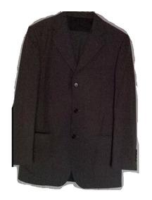 Traje Hombre Bernini Saco 36 R Pantalón 31 R Verde Oscuro