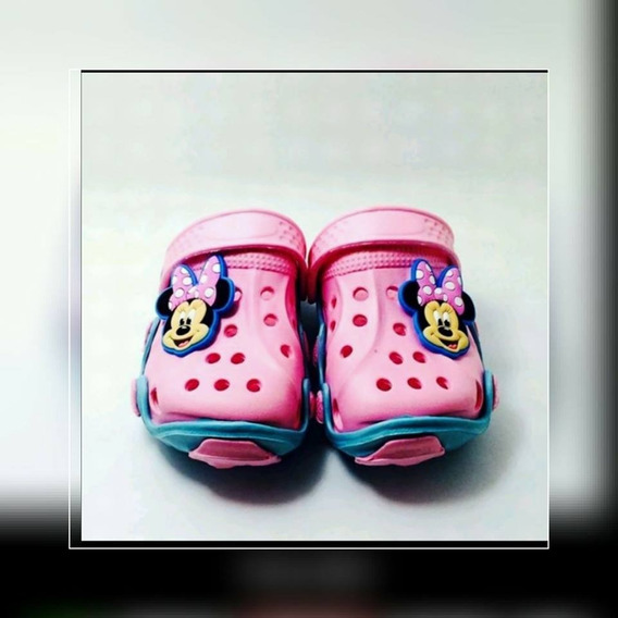 Sandália Infantil Importada Mickey E Minnie