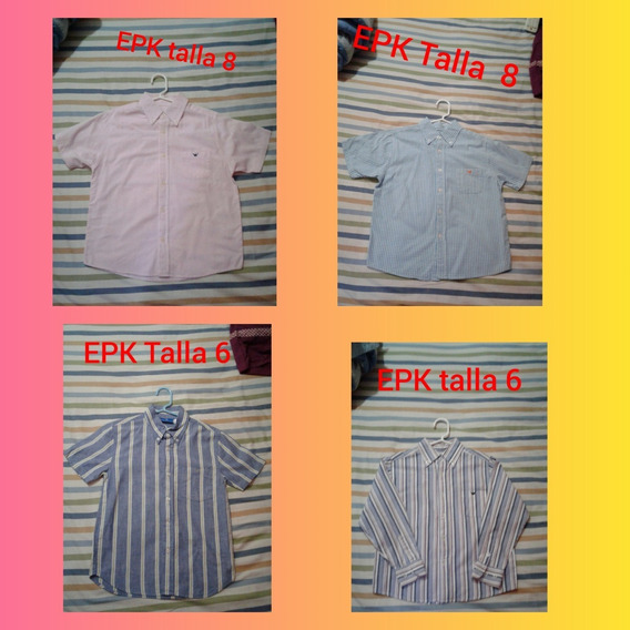 Camisas De Vestir Para Niños 5 Verdes
