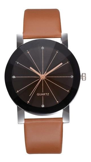 Relógios Unisex Luxo Pulseira De Couro 2019