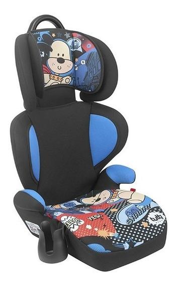Cadeira Cadeirinha Infantil Carro Bebê Azul Supreme Menino 15-36kg