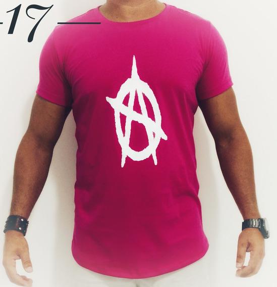 Kit 10 Camisas Camisetas Masculinas Long Line Oversized Swag