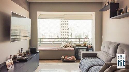 Apartamento À Venda, 70 M² Por R$ 745.000,00 - Aclimação - São Paulo/sp - Ap3466