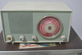 Radio Valvulado Philips Modelo B2r72u - Funcionando Perfeito