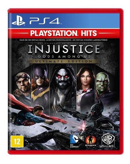 Injustice Gods Among Us Ultimate Edition Ps4 Mídia Física