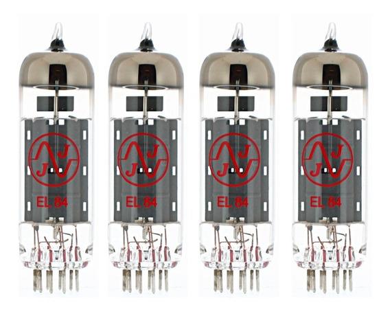 Valvula Electronica Jj Tesla El84 Ampli Cuarteto Apareado