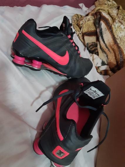 Tênis Nike Shox Junior Numeraçao 36/37 Original 400$