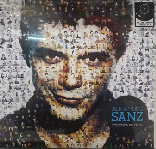 Alejandro Sanz - Colección Definitiva (2 Vinilos+cd) (nuevo)