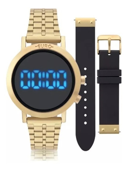 Relógio Euro Feminino Fashion Fit Dourado - Eubj3407aa/t4p