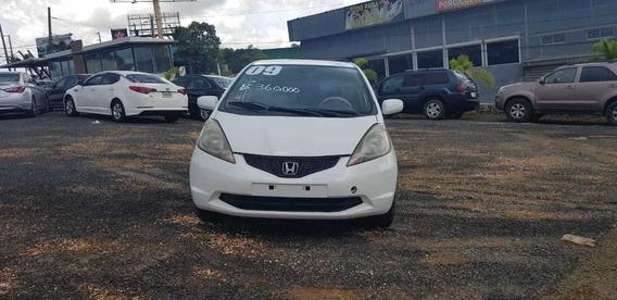 Honda Fit 2009 4 Puertas Blanco