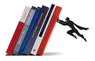 Soporte Para Libros Estilo Super Héroe | 20 Cm | Acero