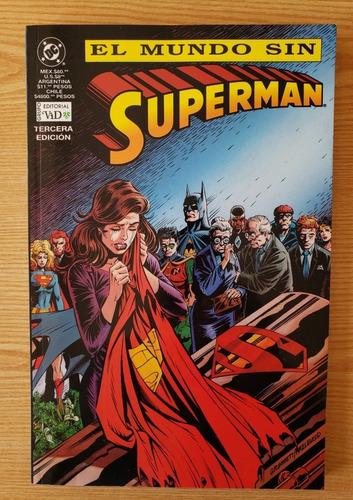 Imagen 1 de 2 de El Mundo Sin Superman (editorial Vid)