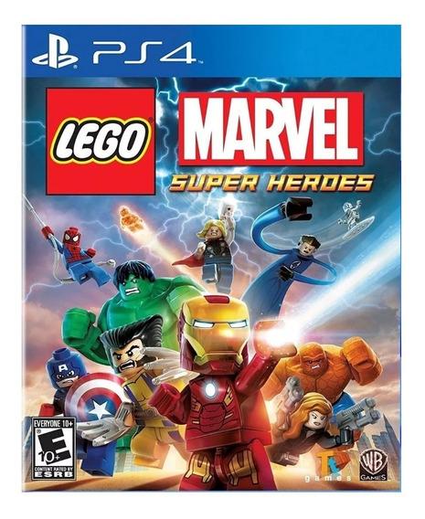 Jogo Lego Marvel Super Heroes Ps4 Digital Vitalicio