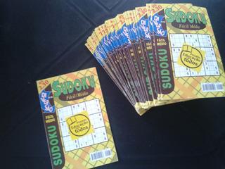 Revista Diversão Sudoku Fácil Médio N° 60 Lote 39 Exemplares