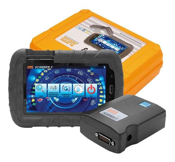 Scanner Raven 3 Com Tablet De 7 Pol. E Maleta - Raven 108800