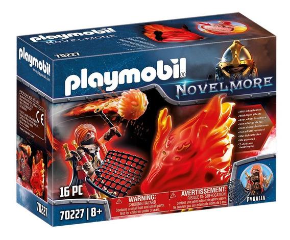 Playmobil 70227 Guardiã De Fogo C/ Luz Novelmore Geobra