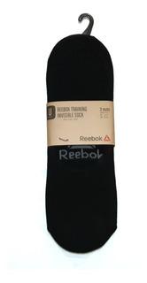 Pack 3 Pares De Tines Reebok Invisible Sock Original Nuevos