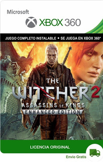 The Witcher 2 Enhanced Edition Xbox 360 Original Digital Lic