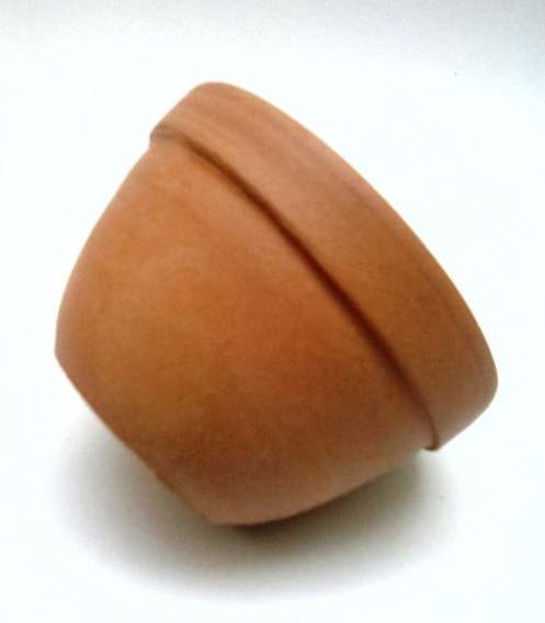 35 Mini Vasinho Tigelinha Barro Cerâmica Plantas 5,0x3,5 Cm