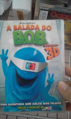 Dvd A Balada Do Bob 3d