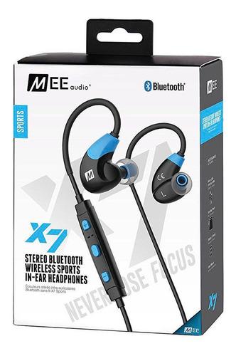 Fone De Ouvido Mee Audio X7 Stereo Bluetooth In-ear Azul