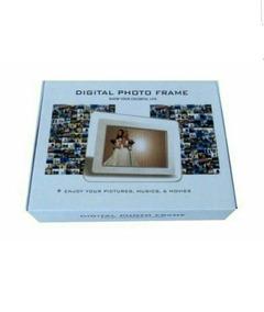 Porta Retrato Digital Com Controle Multi Funcional Mp3