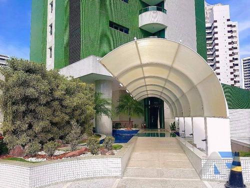 Apartamento À Venda, 304 M² Por R$ 1.900.000,00 - Horto Florestal - Salvador/ba - Ap0078