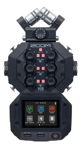 Zoom Gravador De Áudio H8 Handy Recorder