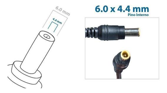 Fonte Carregador Notebook LG R480 19v 3.42a 65w Pino 6.5x4.4