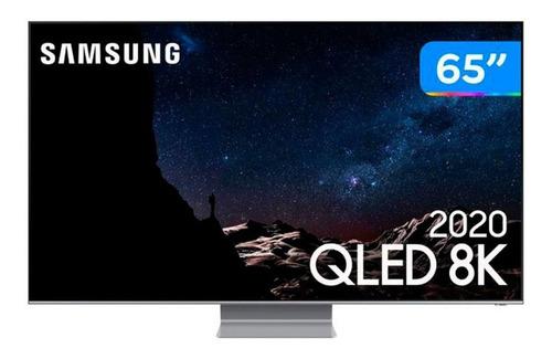 Imagem 1 de 6 de Smart Tv Samsung 65p 8k Ultra Hd Qled Qn65q800tagxzd